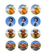 The Lorax edible cake image party cupcake toppers decoration 12/sheet - $7.80