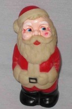 "WONDERFUL Vintage 5"" Rubber Squeeze Toy SANTA - $68.55"