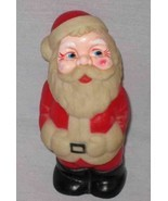 "WONDERFUL Vintage 5"" Rubber Squeeze Toy SANTA - £52.18 GBP"