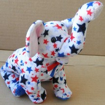 TY Beanie Babies Righty 2004 the Patriotic Elephant Plush Toy Stuffed An... - $11.91
