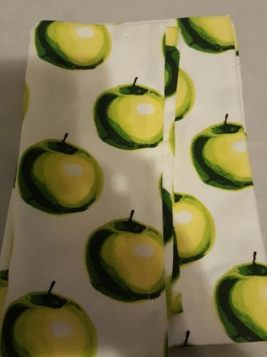 Set of 2 Harvest Themed Kitchen Towel Apple Orchard Fresh Cider w