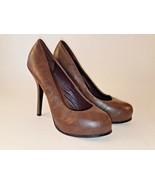 Wet Seal Women's High Heel Brown Classic Platform Pump Size 7 Platform R... - $18.65
