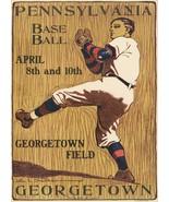 Wall Decor Poster.Home Room art design.Pennsylvania Baseball.Georgetown.... - $10.89+