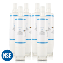 4396508 Refrigerator Water Filter, Replacement for Whirlpool EDR5RXD1, (6-Pack)