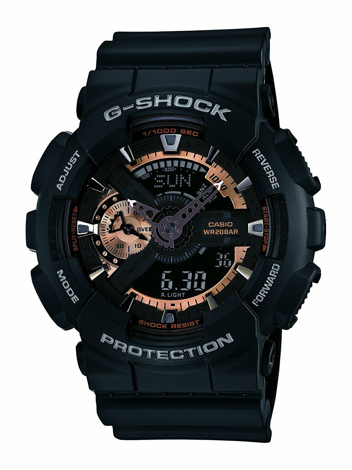 Primary image for Casio G-Shock Analog-Digital Black Dial Men's Watch - GA-110RG-1ADR (G397)