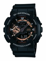 Casio G-Shock Analog-Digital Black Dial Men's Watch - GA-110RG-1ADR (G397) - $184.18