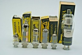 Sylvania 2X2A 6AK6 6CM6 6JL8 17Z3 Audio Video Electronic Electron Tube Lot of 6 - $28.84