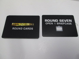Cardinal 2006 Deal or No Deal replacement round cards complete set of 9 - $4.90