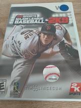 Nintendo Wii Major League Baseball 2K9 ~ COMPLETE image 1