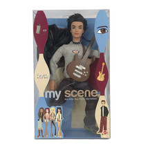 Barbie My Scene River Doll Hanging Out With Guitar Rocker Boy Male Mattel 2003 - $42.08