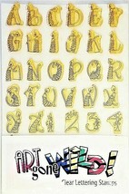 Art Gone Wild Candle Alphabet and Number Stamps
