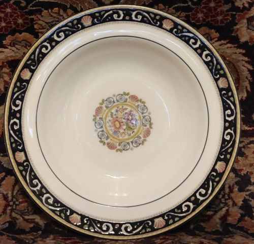 """Wedgwood RUNNYMEDE BLUE 8"""" Rimmed Soup (multiple available)"""