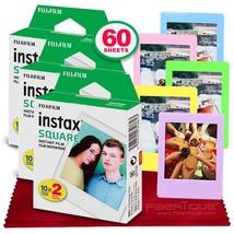 Fujifilm instax Square Instant Film (60 Exposures) Compatible with FujiFilm Inst - $69.99