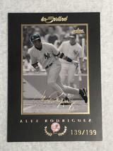 ALEX RODRIGUEZ Card /199 2004 FLEER INSCRIBED #47 - $6.65