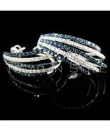 Mens Ladies .54CT Real Diamond White Gold Fin H... - $395.99