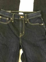 J Crew Dark Wash Denim Stretch Flare Leg Jeans Women's Size 24 Inseam 34... - $35.25