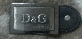 vintage mens dolce gabbana belt buckle fits any belt - $19.44