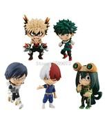 5pcs/set My Hero Academia Figure Toy Midoriya Izuku bakugo katsuki Todor... - $38.20+