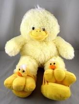 "Bear Factory Plush Duck w/ Removable Duck Head Sandals 15"" Stuffed Anima... - $23.26"