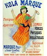 5658.Kola marque.tonique aperitif.lady dancing.POSTER Home Office decor - $10.89+