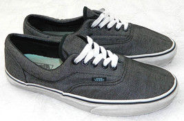 VANS Off the Wall SNEAKERS SHOES Mens 8.5 Women 10 GRAY Tweed Look SKATE... - $29.69