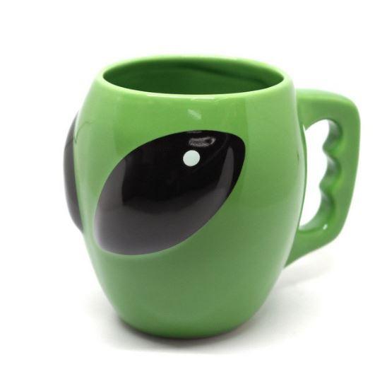 3d green alien 1