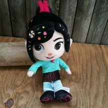 """Disney Store Wreck it Ralph Vanellope Von Scweetz 12"""" Plush Doll  - $12.00"""