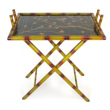 Hand Painted Serving Tray Stand - $247.22