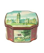 Vintage Canada Travel Souvenir Hinged Tin - Horner Toffee Metal Container - $18.70
