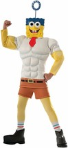 Rubie's Costume SpongeBob Movie Muscle Chest Child Costume, Medium  - $35.14