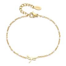 ZMZY Cute Cartoon Dainty Dragonfly Charm Beads Stainless Steel Bracelets... - $15.84