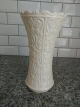 """VINTAGE """"LENOX"""" Wentworth Porcelain Fleur-de-Lis/Floral Vines Vase (11""""x... - $39.60"""