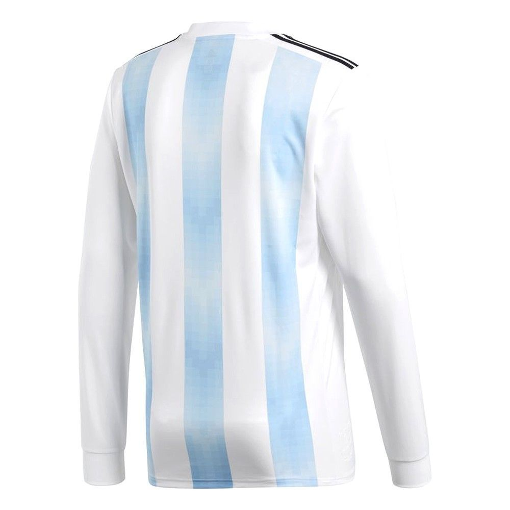 3e3ae33caa8 ADIDAS LIONEL MESSI ARGENTINA LONG SLEEVE HOME JERSEY FIFA WORLD CUP 2018.