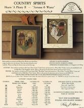 Autumn & Winter Homespun Elegance Country Spirits Cross Stitch PATTERN Leaflet - $2.67