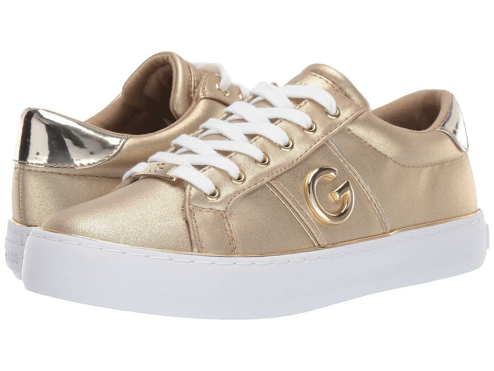 G by Guess GBG Women's Lace Up Leather Sneakers Shoes Grandyy
