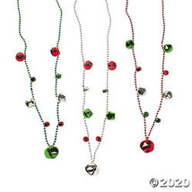 Jingle Bell Bead Necklaces - $21.23