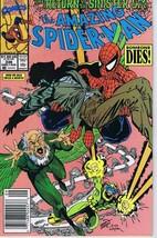 Amazing Spiderman #336 ORIGINAL Vintage 1990 Marvel Comics Vulture - $12.86