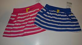 Carters  Playwear Girls Skort Size 3T NWT Striped Blue - $10.39