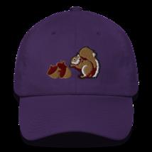 CHIPMUNK HAT / WILDLIFE HAT / ANIMALS HAT / COTTON CAP image 3