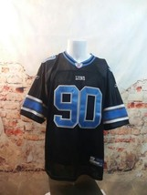 Detroit Lions Size 52 Ndamukong Suh 90 Jersey Reebok On Field NFL - €30,24 EUR