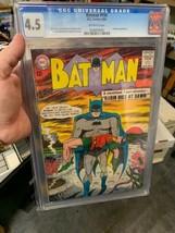 Batman #156 CGC 5.5 VINTAGE DC Comic Detective Robin Silver Age 12c Ant-... - $196.00