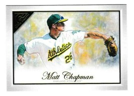 2019 Topps Gallery #47 Matt Chapman Oakland Athletics A's Base - $4.28
