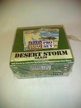 Trading cards Desert Storm Pro set Military - $9.89