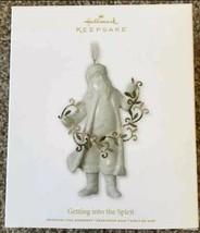 Hallmark Keepsake Getting Into The Spirit Santa Christmas Ornament New I... - $12.86