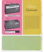 ORIGINAL Vintage 1960s Gibson Crestline Amplifiers Catalog - $79.19