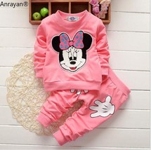 NEW Spring Autumn Children Clothing Set girls sports suit baby girls tra... - $15.10
