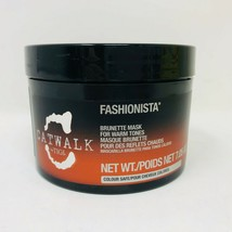 Catwalk Tigi Fashionista Brunette Mask For Warm Tones 7.05 oz New - $14.24