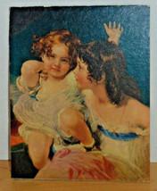 """Vintage 8 """"x 10"""" Print-Victorian Children-Girls - $5.00"""