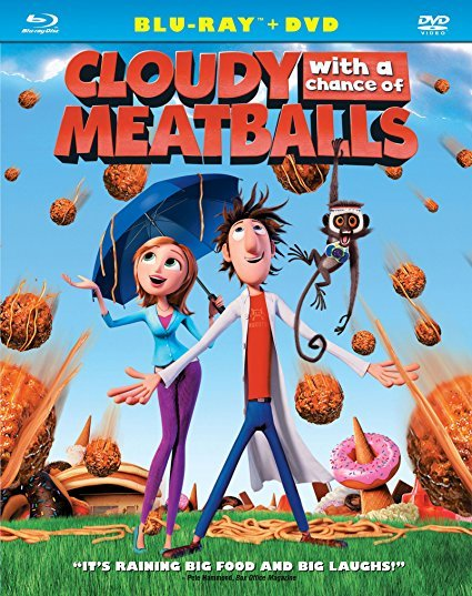 Cloudy with a Chance of Meatballs [Blu-ray + DVD] (2009)