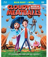 Cloudy with a Chance of Meatballs [Blu-ray + DVD] (2009) - $2.95